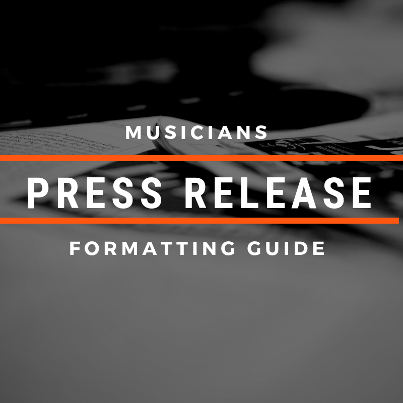 Musicians Guide to Press Release Writing