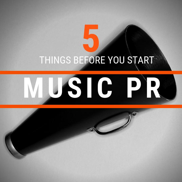 Cyber PR 5 Things Prepare For a Music PR Campaign