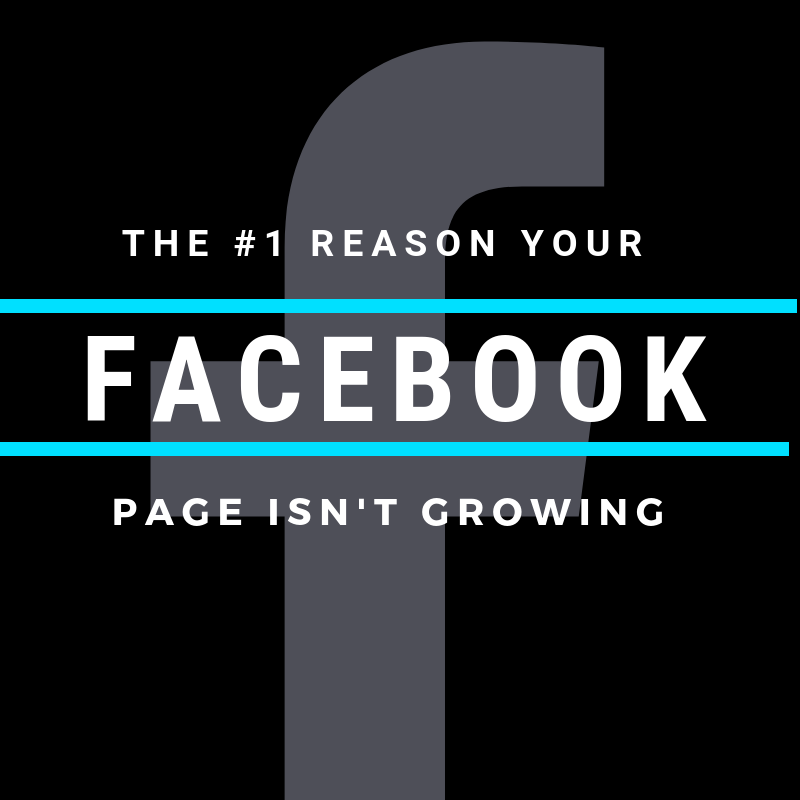 1 Reason Why Your Facebook Page Isn't Growing Cyber PR