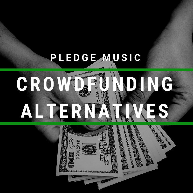 crowdfunding alternatives to pledge music for musicians