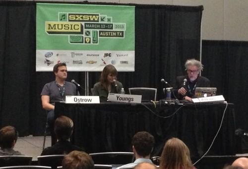 Kickstarter 101 Panel - Jon Ostrow, Jenny Owen Youngs, Martin Atkins