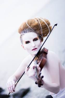 Violinist_Singer_Roswitha_aka_Queen_Rose_Destiny_2013_promo2_Back pic