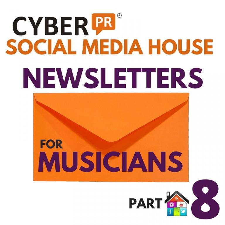 Social Media House Part 8 Newsletters