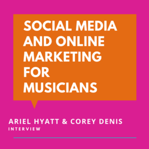Social Media and Online Marketing for Musicians