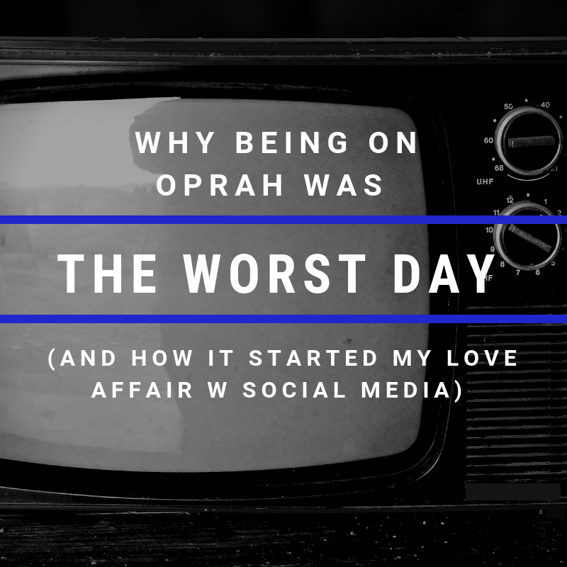 Why Being On Oprah Was The Worst Day of My Life