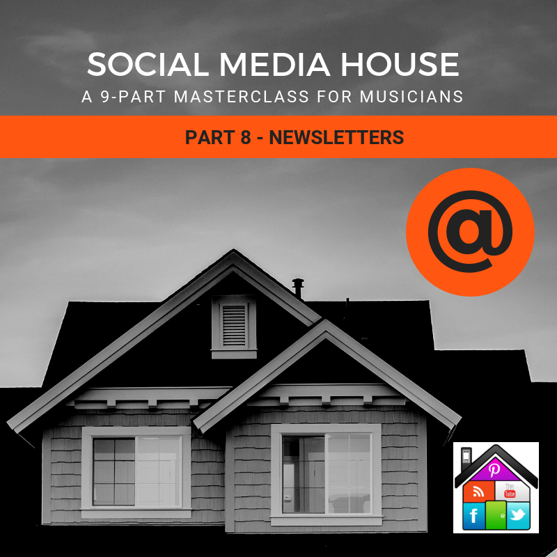 social media house newsletters