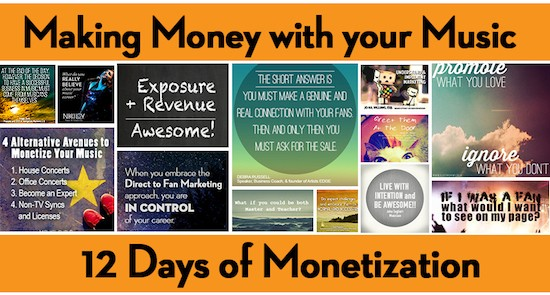 12 Days of Monetization – A Summary of the 13-part Cyber PR Guest Post Series