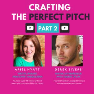 Ariel Hyatt and Derek Sivers - Artist bio pitch video
