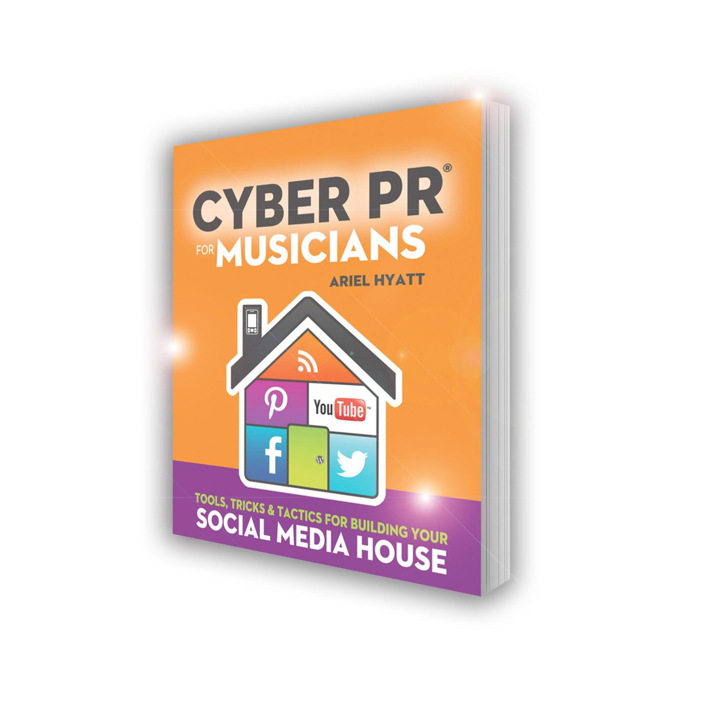 My New Book! – Cyber PR For Musicians