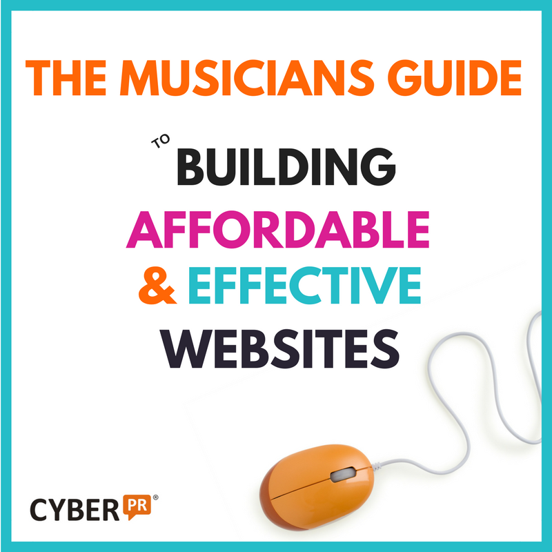 The Musician's Guide To Building a Website
