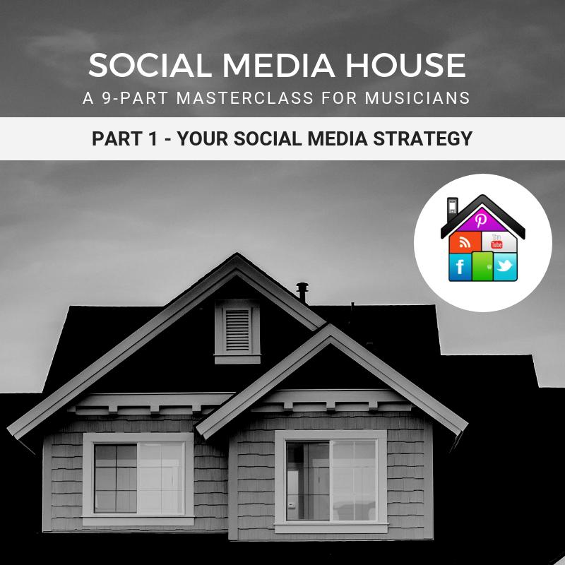social media house for musicians
