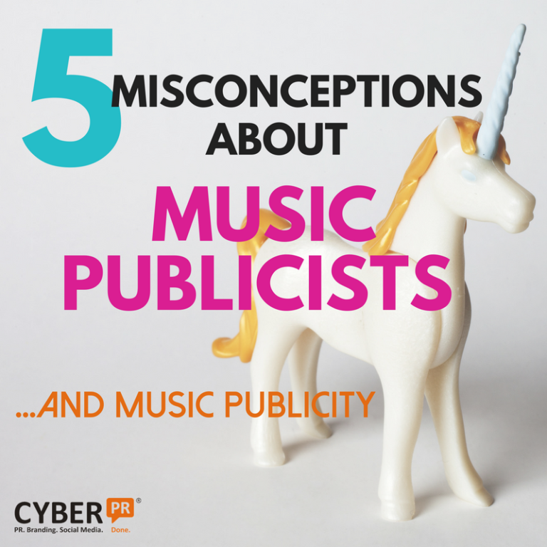 5 misconceptions about music publicists and music publicity