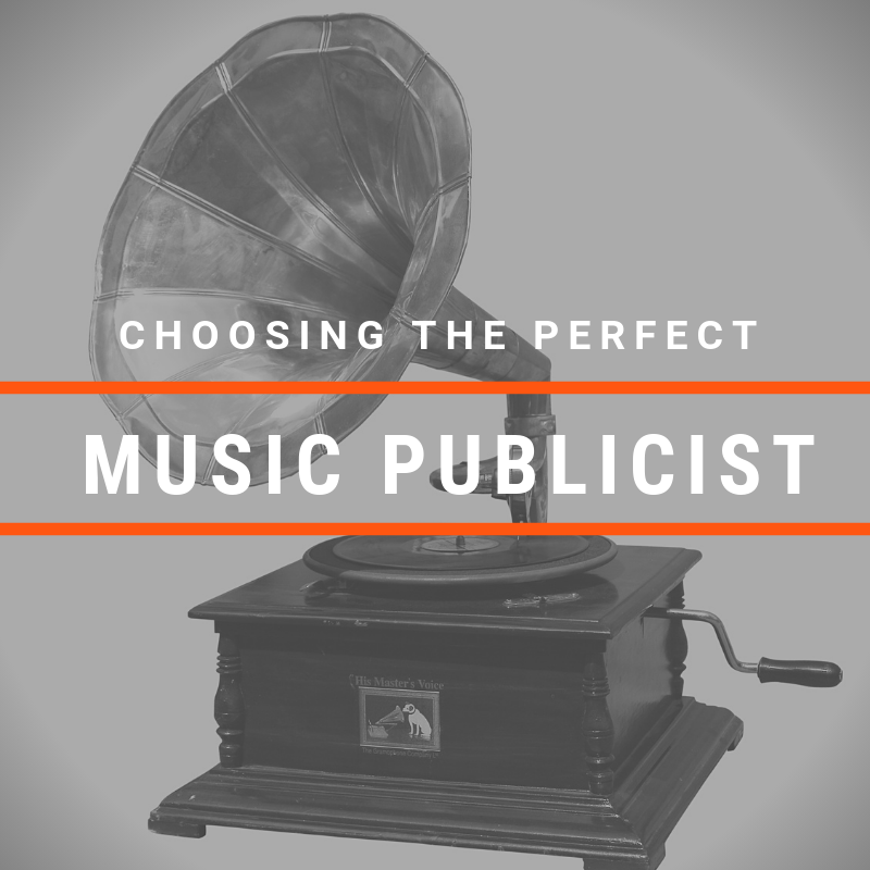 Choosing The Perfect Music Publicist