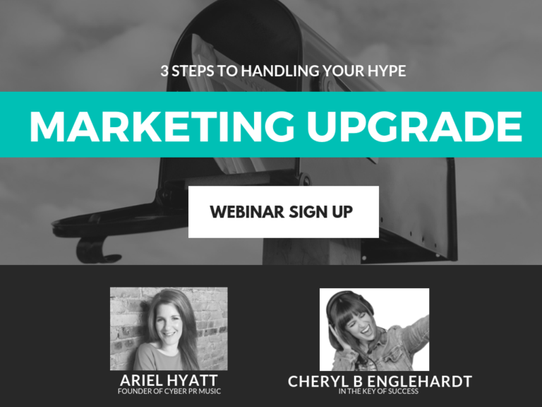 WEBINAR Music Marketing ARIEL HYATT AND
