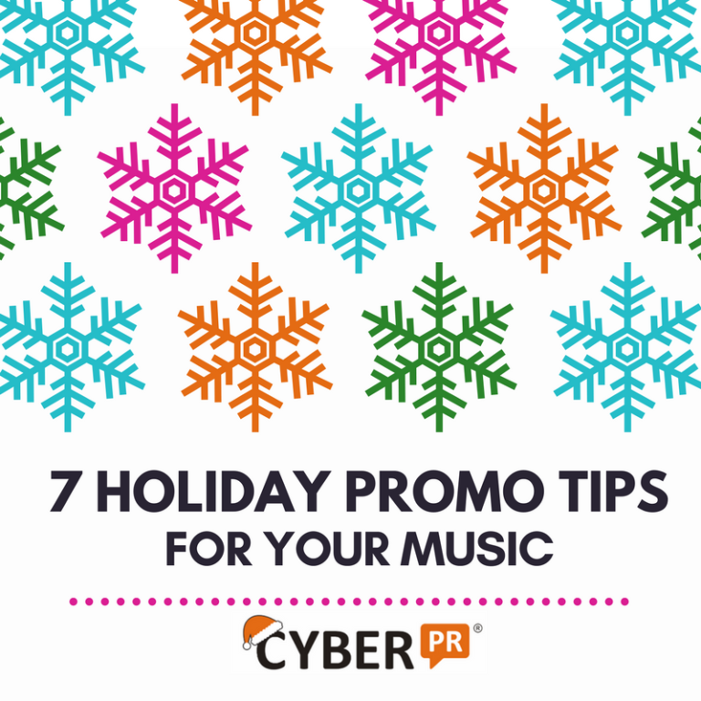 holiday music promotion tips