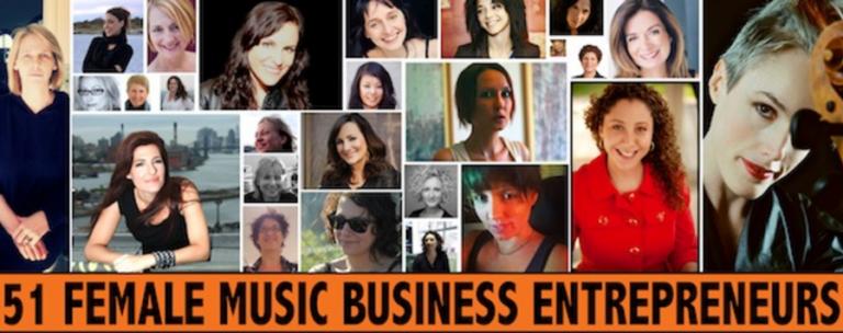51 female music business