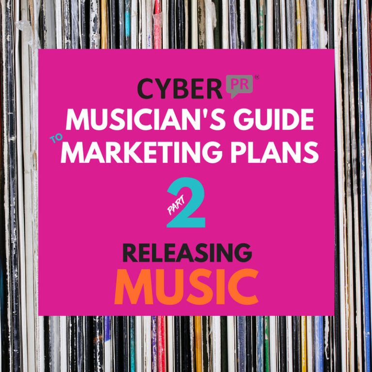 Musician's Guide to Marketing Plans Cyber PR