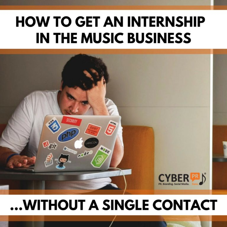 HOW TO GET AN INTERNSHIP
