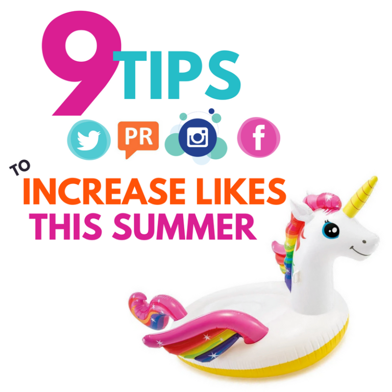 Cyber PR Tips to Increase likes this summer