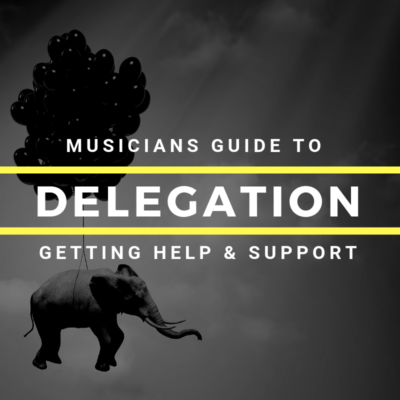 Delegation for musicians getting help and support