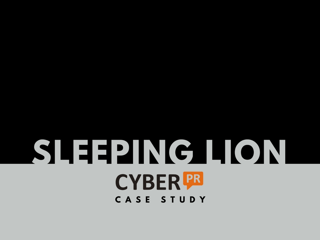 Cyber PR Music Publicity Case Study – Sleeping Lion