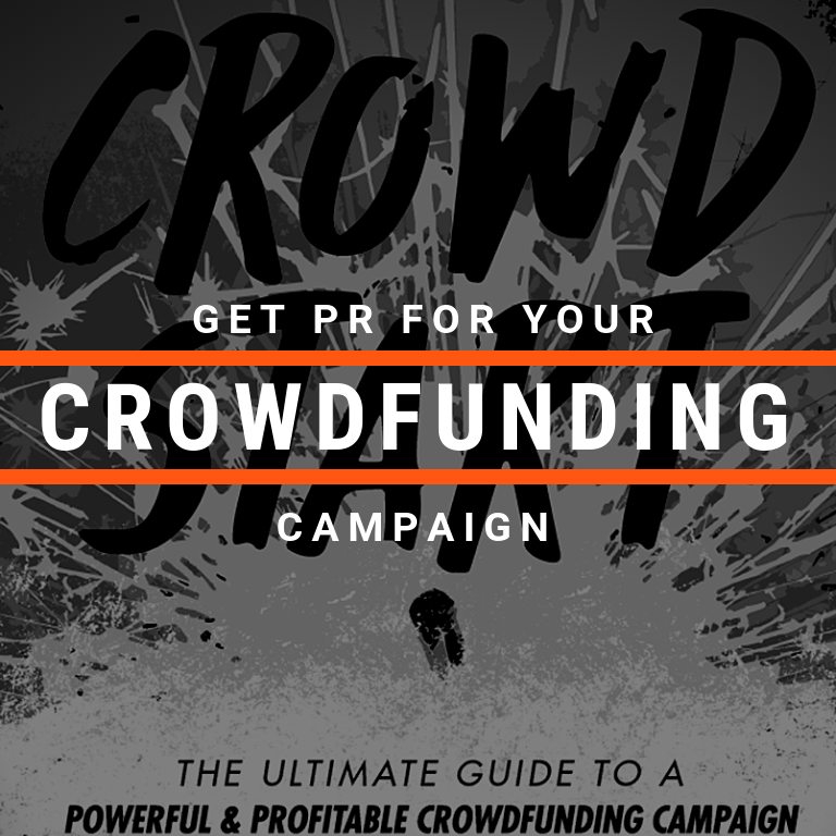 Cyber PR Get PR For Your Crowdfunding Campaign