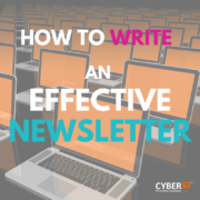 how to write an effective musicians newsletter