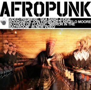 Music Publicist example placement - Afropunk