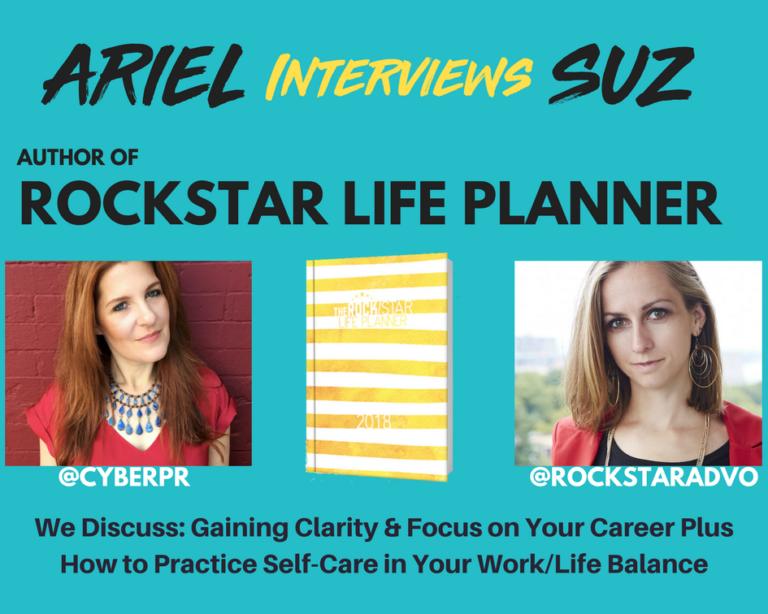 Ariel Hyatt Cyber PR and Rock/Star Advocate Suz Paulinski