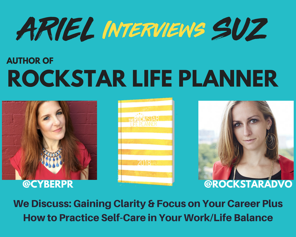 The Rockstar Life Planner-  Exclusive Interview w/ Author The Rockstar Advocate