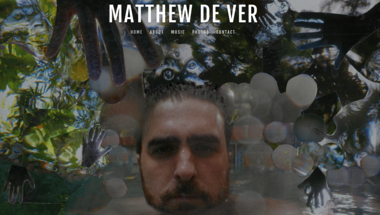 MattDeVer Music Website