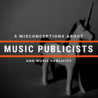 5 Misconceptions About Music Publicists (And Music Publicity In General)