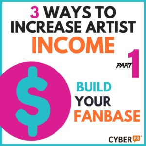 Increase your artist income