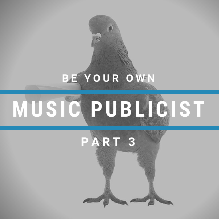 Cyber PR How to be your own Music Publicist pt 3