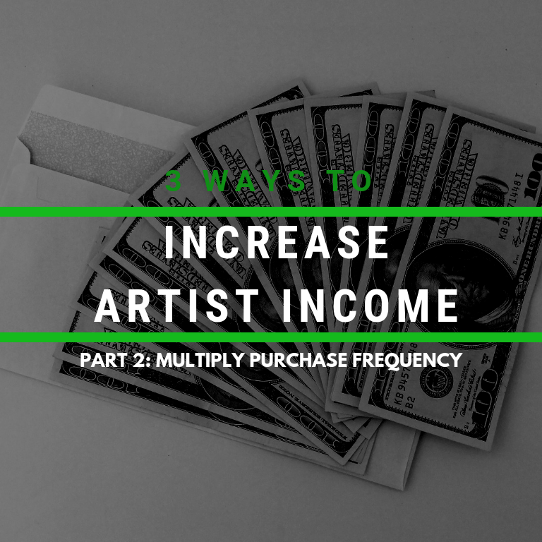 Increase Your Artist Income – Part 2: Multiply Purchase Frequency