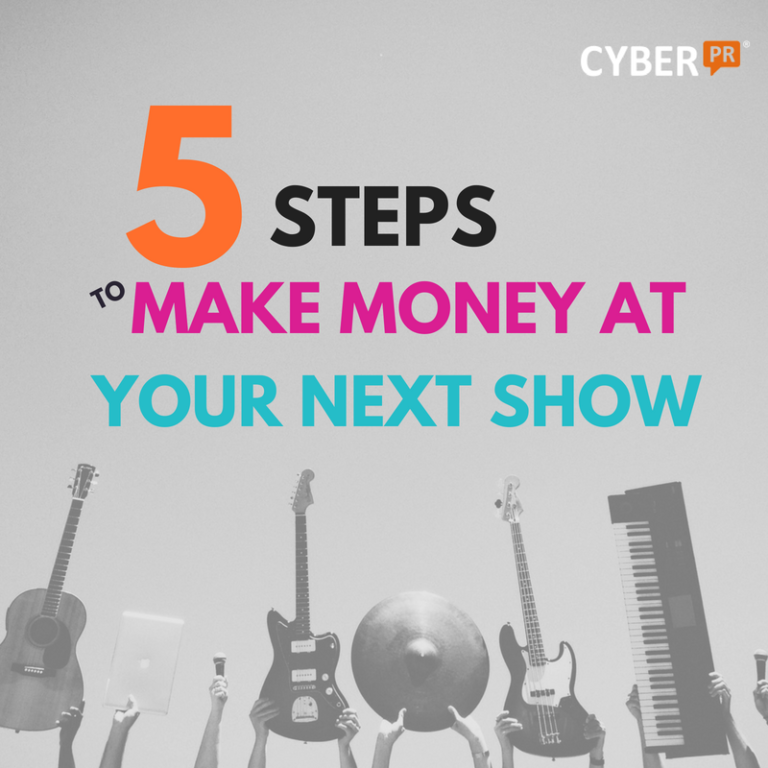 Making money at live shows