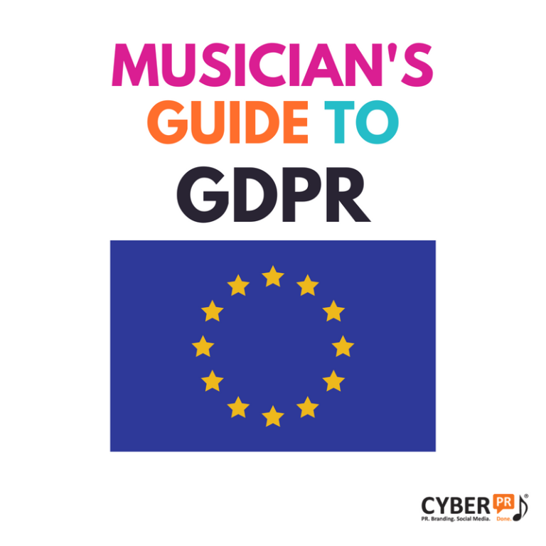 Musician's Guide to GDPR