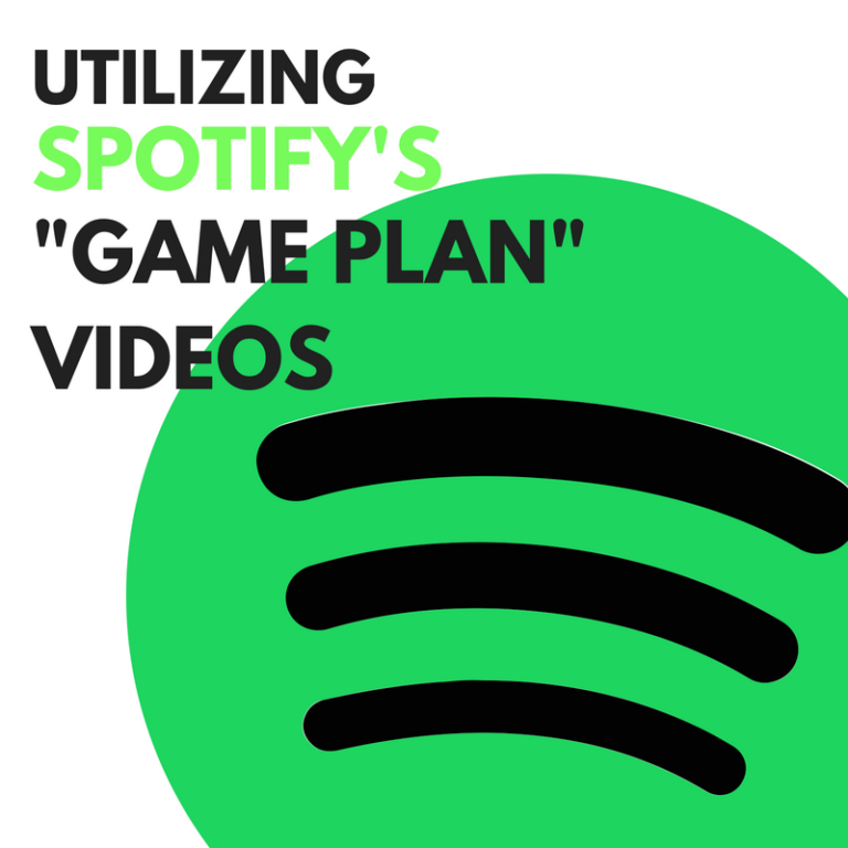 spotify game plan videos