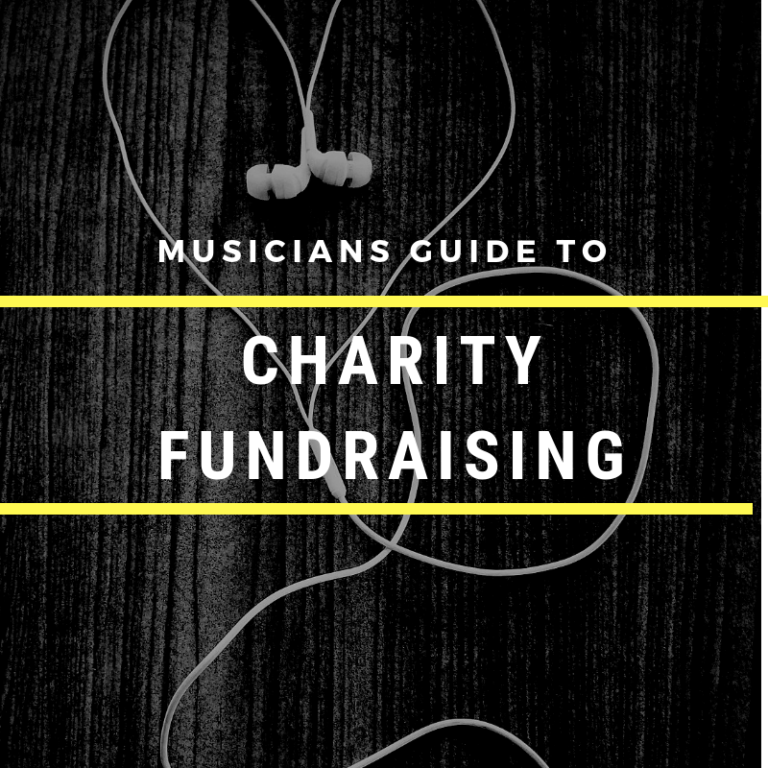 Musicians Guide to Charity Fundraising