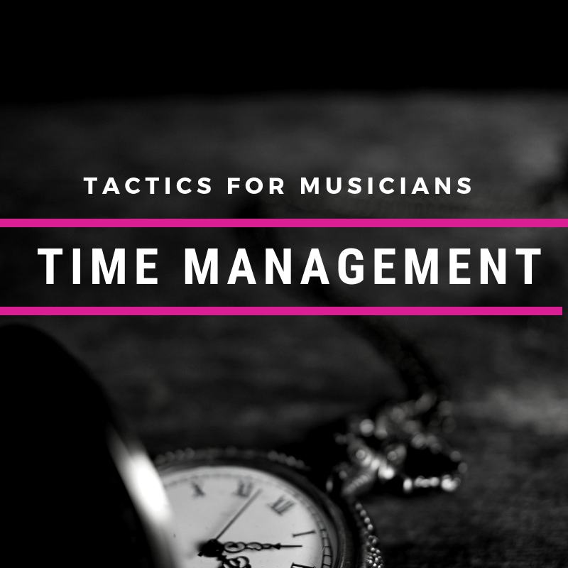 Time Management For Musicians Cyber PR