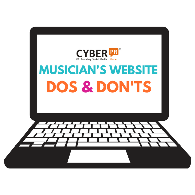 Musician's Website Dos & Don'ts