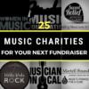 25 Music Charities