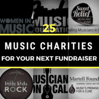 25 Music Charities for Your Next Fundraiser