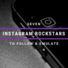 7 Instagram Rockstars to follow Cyber PR