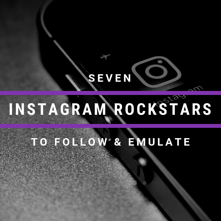 7 Instagram Rockstars to follow Cyber PR