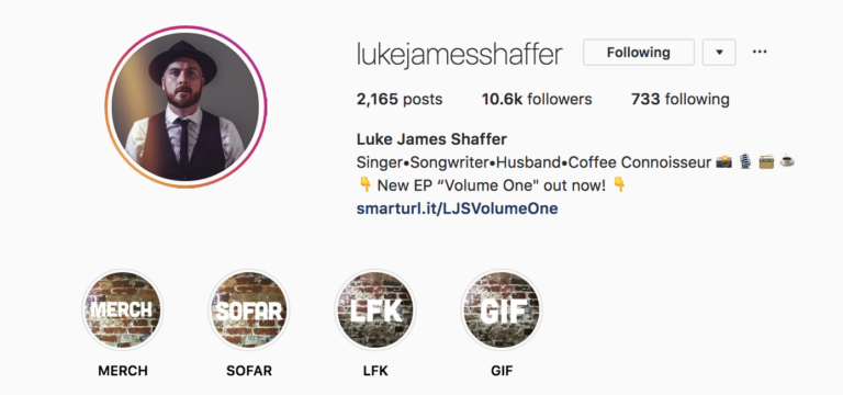 Luke James Shaffer Instagram