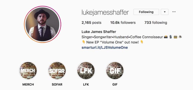 Luke James Shaffer Instagram
