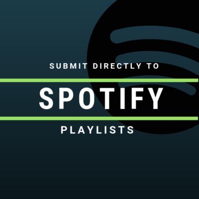 Submit Directly to Spotify Playlists Cyber PR