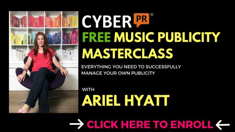 FREE MUSIC PR MASTERCLASS