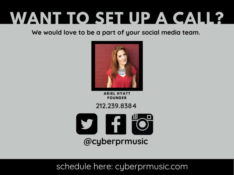 Cyber PR Music Case Study Social Media Management contact Cyber PR